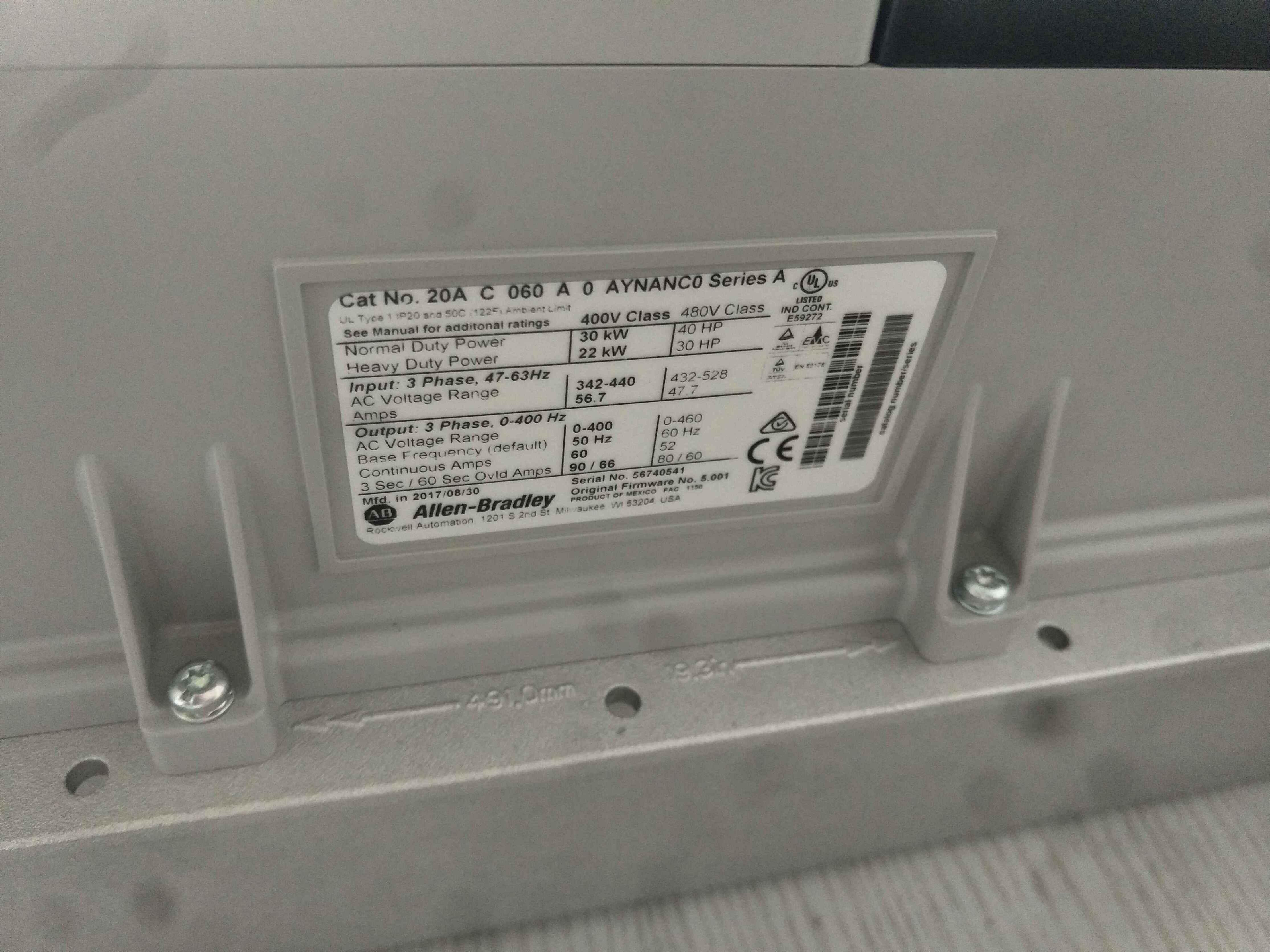 Allen Bradley Panelview 600 Operator Interface Panel AB